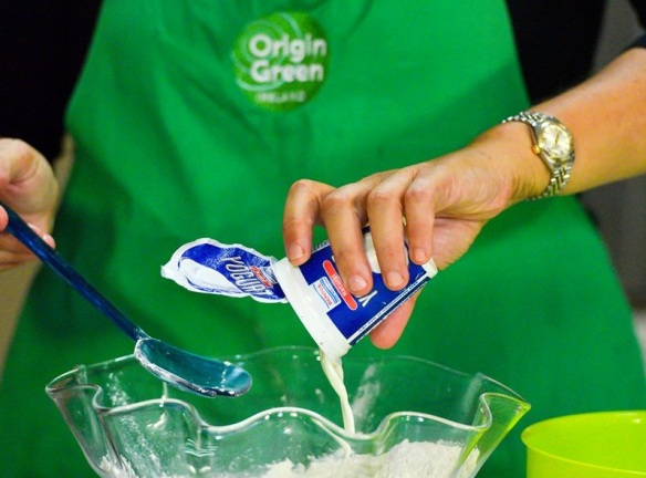 Adding yoghurt to make the dough as seen on ONE TV